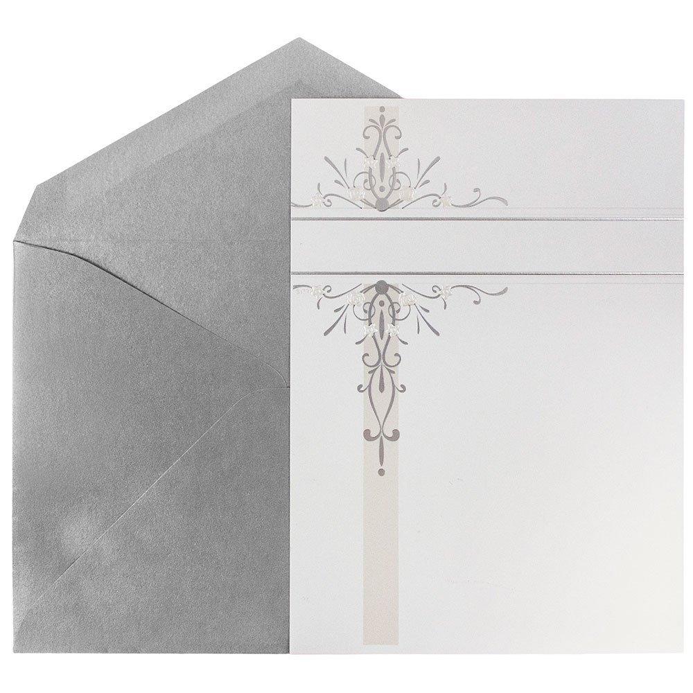 Cheap Silver Wedding Invitation Cards Wordings, find Silver Wedding ...