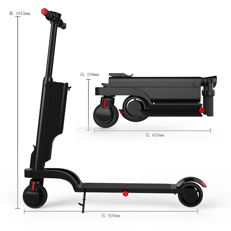 2018 New Model Self-balancing Electric 250w Wholesale electric scooter with factory price