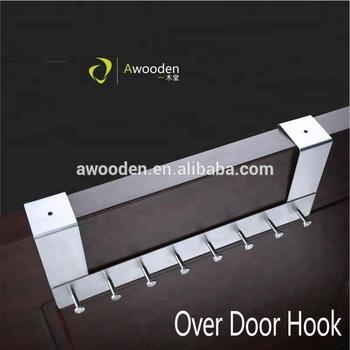 Stainless Steel Adjule Over Door Hook