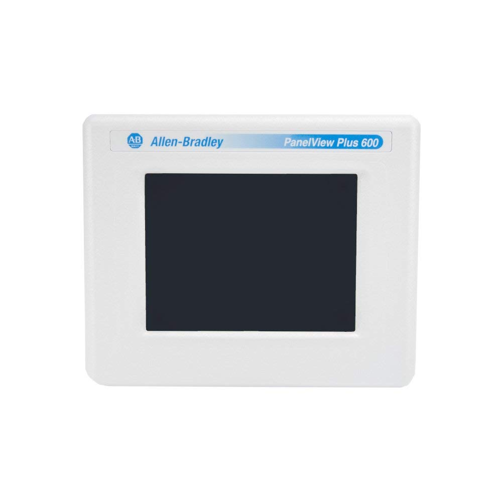 Allen-Bradley - Rockwell Automation | 2711P-T6C20D/C | PanelView Plus 600 Color Terminal Touch Screen (Certified Refurbished)