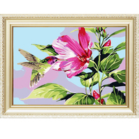 3D natural scenery hand-paint wall art diy digital painting by numbers
