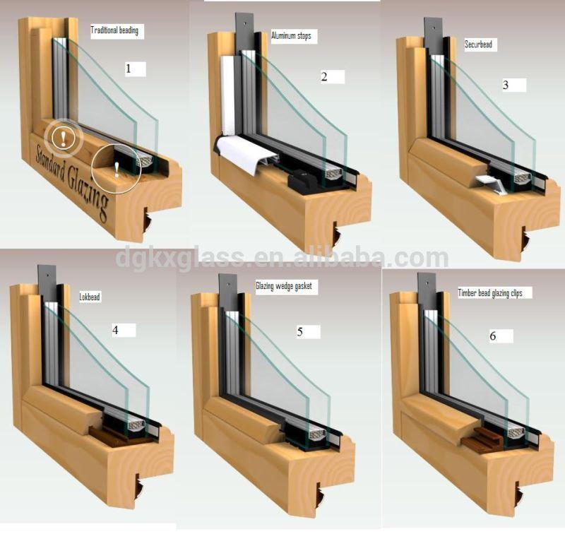 New Design Clear Tempered Glass Door Frameless Folding