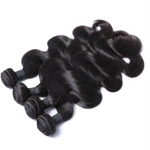 Remy brazilian bodywave 12 to 28 inch virgin human hair from china hair factory