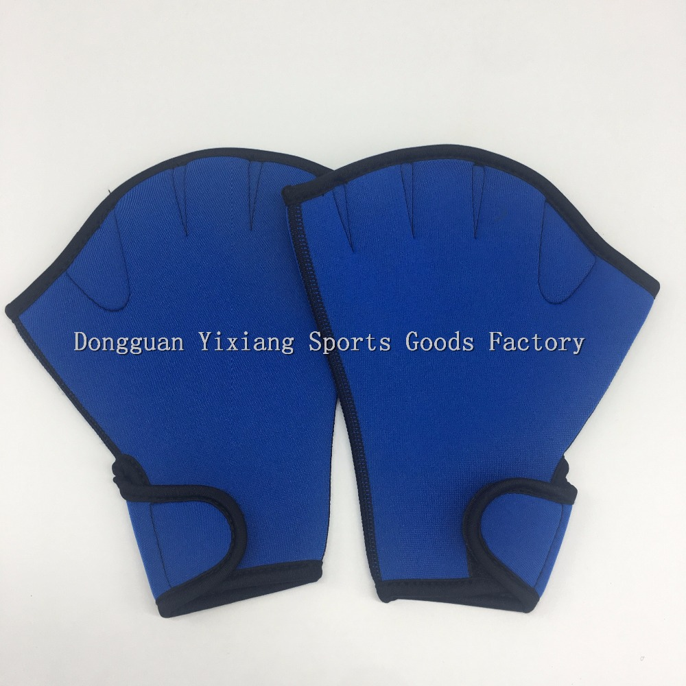 Eco-friendy Neoprene Aquatic Fitness Training Fit Webbed Gloves Swimming Gloves