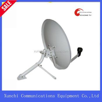 Ku Band Aluminum Mesh Dish Antenna 75cm / Satellite Aluminium Mesh ...