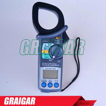 Kyoritsu Kew 2003a Ac Dc Current Voltage Digital Clamp Meters Tester 2000a  - Buy Digital Clamp Meter,Kyoritsu Clamp Meters,2000a Clamp Meter Product