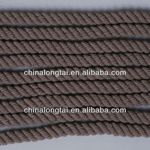 pp cable filler yarn/polyester sewing thread/packing rope/black fishing twine