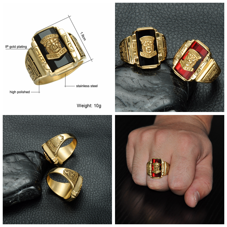Boy Single Wood Eye Stone Ring Design,Men Stainless Steel Stone Gold ...