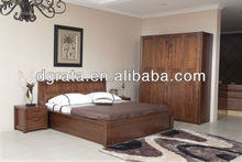 2013 elegant bedroom furniture was made from American ash