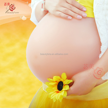 4000g twin Artificial Baby Tummy, Belly Fake Pregnancy, Pregnant Bump Silicone belly