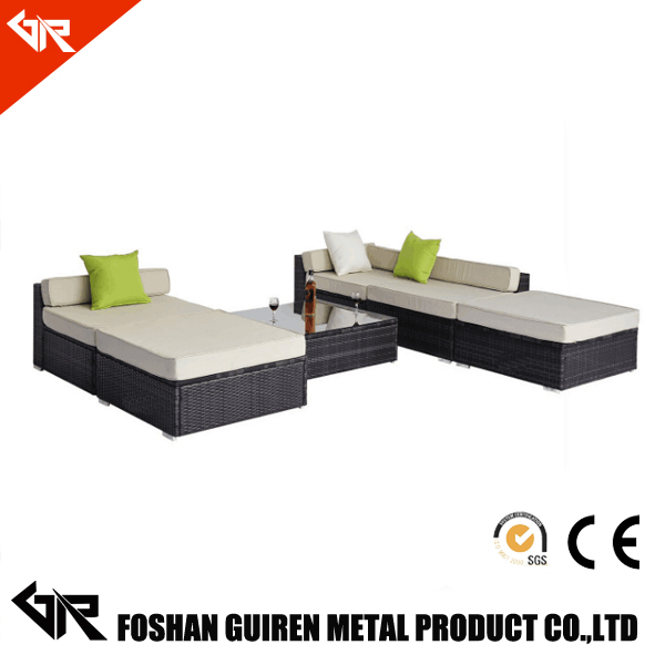 used garden treasure illuminated garden furniture plastic royal style daybed outdoor rattan furniture