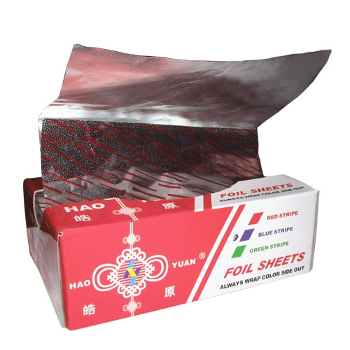 Chinese manufacture food packing and household pop-up foil sheets