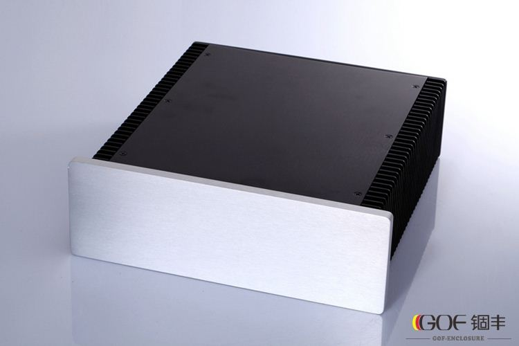 china wholesale aluminum profile electronic enclosure amplifier case car amplifier enclosure audio amplifier enclosure