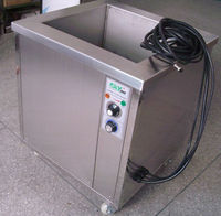 Metal pieces ultrasonic cleaner with filtration for metal parts cleaning rust removal
