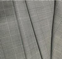 Wool / Polyester Material and Woven Technics worsted wool fabric