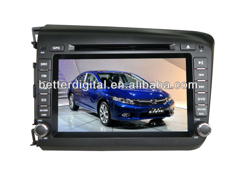 Car radio gps for honda civic 2012