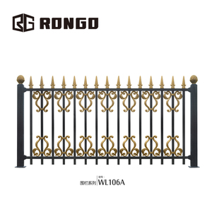 Rongo tubular u shaped steel h corner fence post