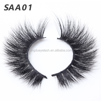 8514c830b2d wholesale 100% real siberian mink fur eyelashes 3d mink lashes top quality  custom packaging