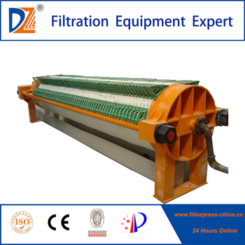 Ceramic Industry Use Hydraulic Circular Filter Press