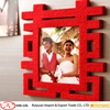 2016 Exquisite double happiness wedding felt photo frame for sale