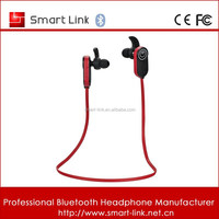 Handsfree Waterproof Bluetooth Mobile Phone Headset With Build-in Mic
