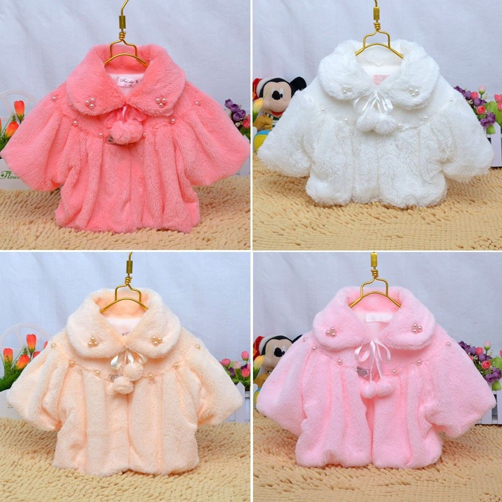 bce8f2174 Wholesale 2015 Winter Newborn 6 12 24 Months Baby Girl Fur Coat ...