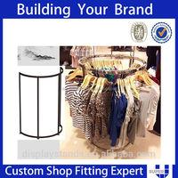 elegant round clothing racks eden shop equipment shopfitting london