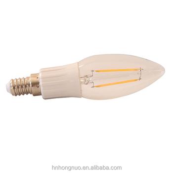 dimbare led filament kandelaar lamp e27 e26 kroonluchter base led verlichting