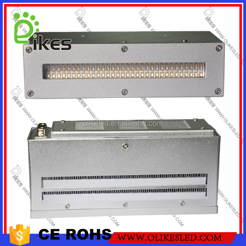Olikes 369nm,395nm,405nm UV LED Area Curing System for UV Silk screen ink curing