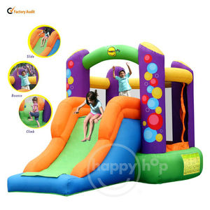 Happy hop Bouncy Castle-9236 Combo Bouncer with Slide