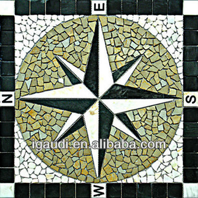 Greek marble art mosaic tile