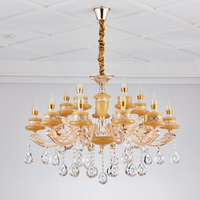 modern flush ceiling middle east restaurant light vintage creative zinc alloy candle style chandelier
