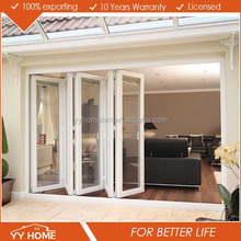 YY Home New Style Customized Oem Ghana Aluminium Folding Sliding Door