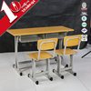 Best selling products double school student desk and chair