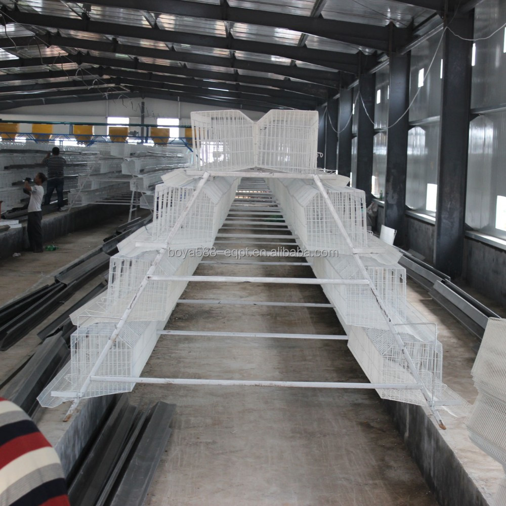 Hot galvanized Chicken ,quail etc,Rabbit Use and Steel Mesh laying hen cage