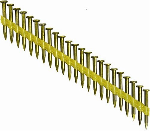 Grip-Rite GRJSN112HG 1-1/2-Inch by .148-Inch by 33 Degree Plastic Collated Diamond Point Hot Dipped Galvanized Nail (2,000 per Box)