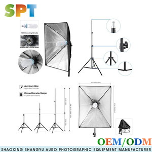 "20""X28"" 50*70 Soft Box Photography Lighting Kit 800W Continuous Lighting System Photo Studio Equipment Photo light kit softbox"