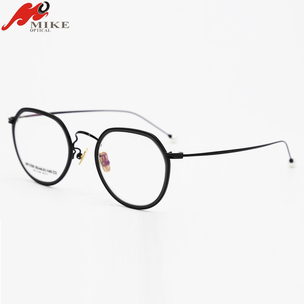 a3d77c1c00f 2018 New Products Korean Glasses Eyeglass Frame Japan Titanium Hinge ...