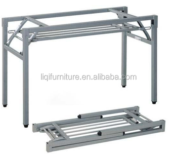 Folding Table Frame With Under Metalmesh LQ-F002