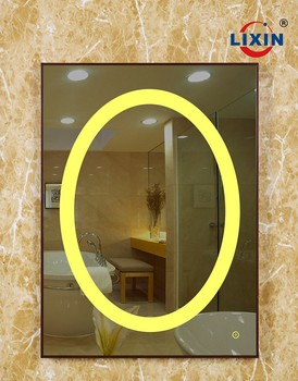 LED Light Mirror Touch Sensor Switch Smart Bathroom With Anti Fog Function