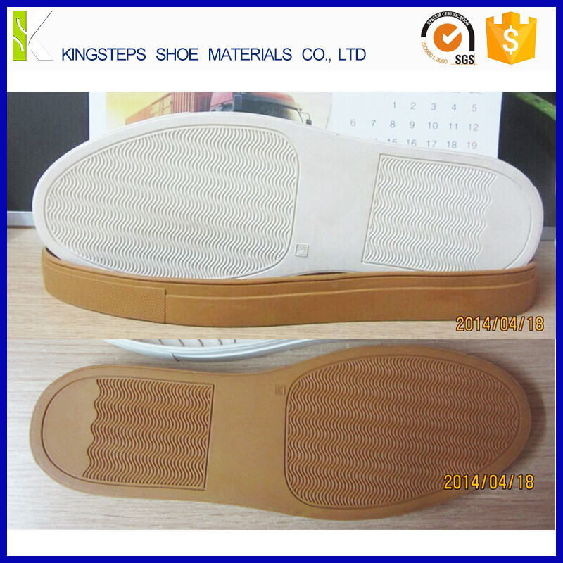 Wave backing soft size 31#-48# single color KS-081 Rubber sole for sneakers cup shoe