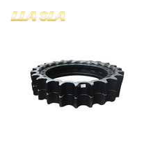 Hot sale DH55 hyundai cast steel excavator sprocket wheel