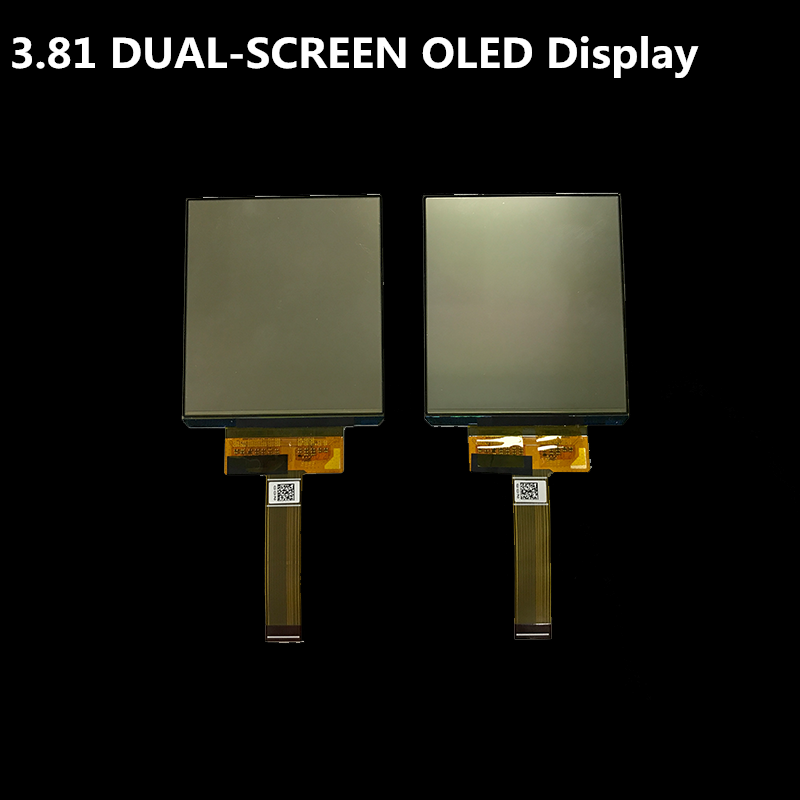 OEM ODM factory 1080*1200 3.81 inch hdmi thin oled display for VR