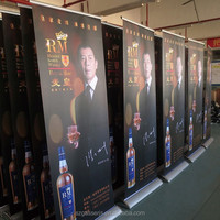 Cheap price roll down banner retractable banner stand