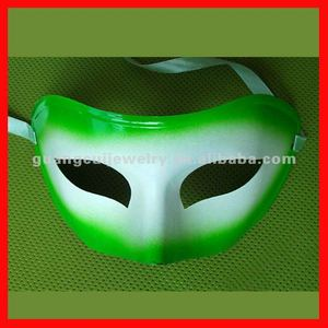 fashion green clear plastic face mask
