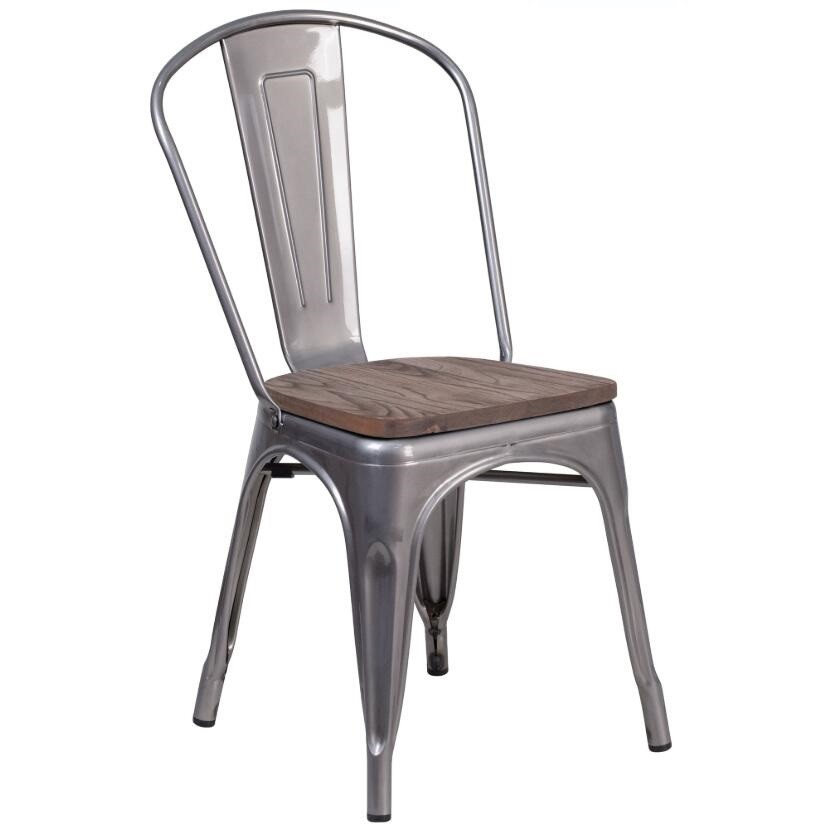 Poly And Bark Tolix Style Bistro A Dining Side Chair - Buy ...