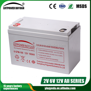 UPS EPS Valve Regulated Lead Acid Battery, Rechargeable Battery 12V 100AH