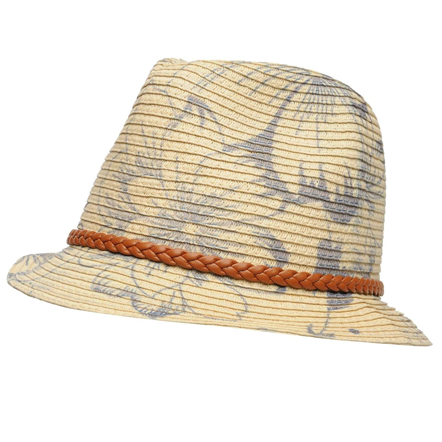 ee70ea52195c9c Get Quotations · Firetrap Mens Trilby Hat Breathable Lightweight Accessories