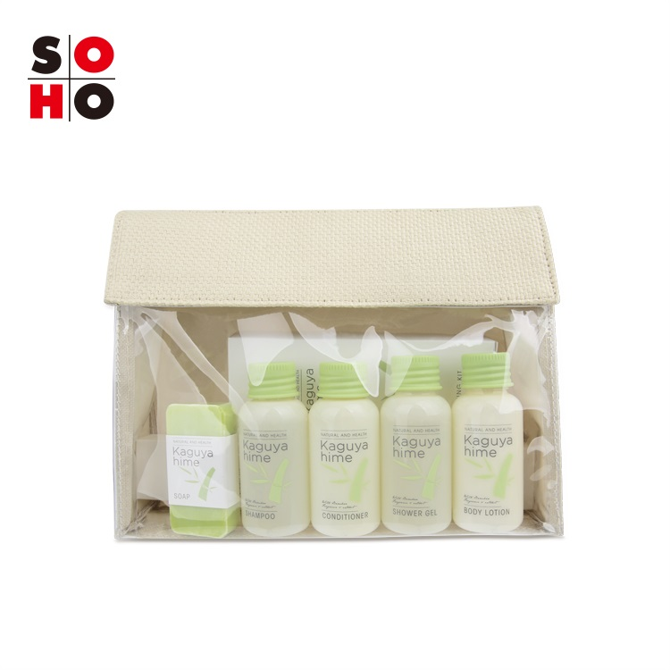 New Design hotel personal travel set Hotel room Amenities