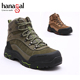 Clamber non-slip rubber outsole olive green action trekking shoes